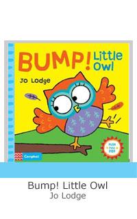 Bump Little Owl grey letteing