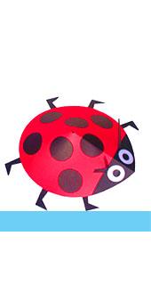 ladybird book end