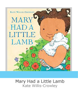 mary had a little lamb book end